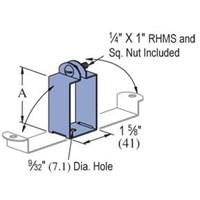 unistrut P2537 electrical fittings p2537 p5537 flourescent